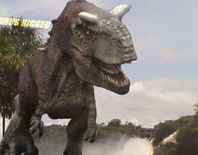 Carnotaurus Rigged 2018 3D model