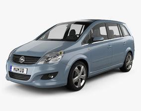 Opel Zafira B 2009 3D