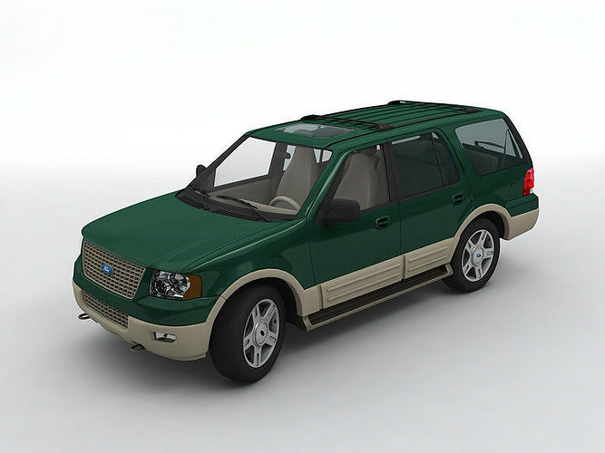 2003 ford expedition suv 3d model | cgtrader