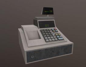 Cash Register 3D model low-poly