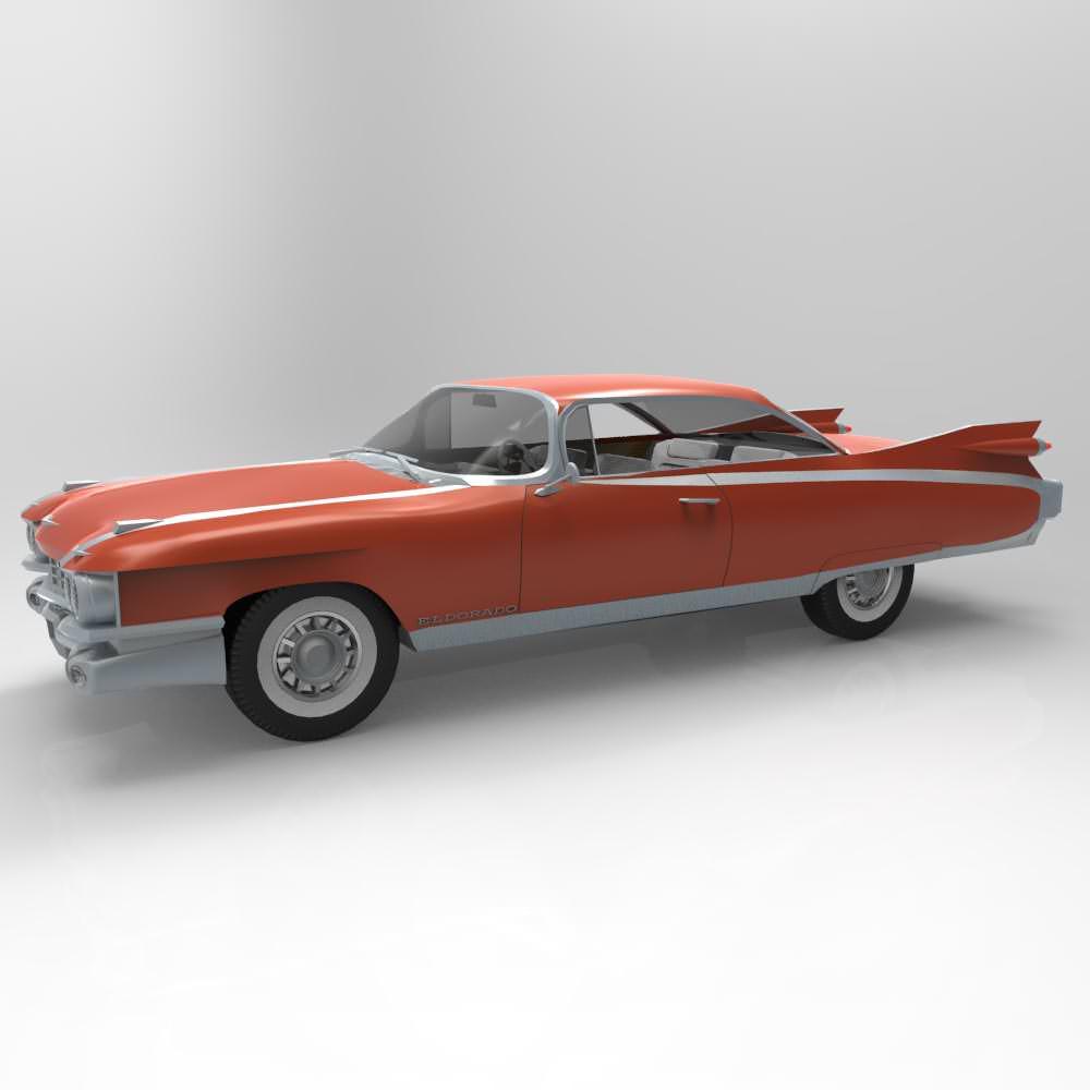 3D model 1959 Cadillac | CGTrader