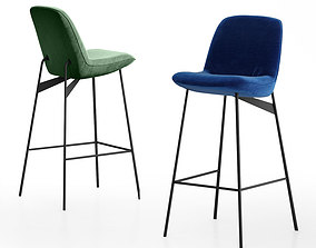 Mambo Unlimited Ideas Chiado bar chair 3D model