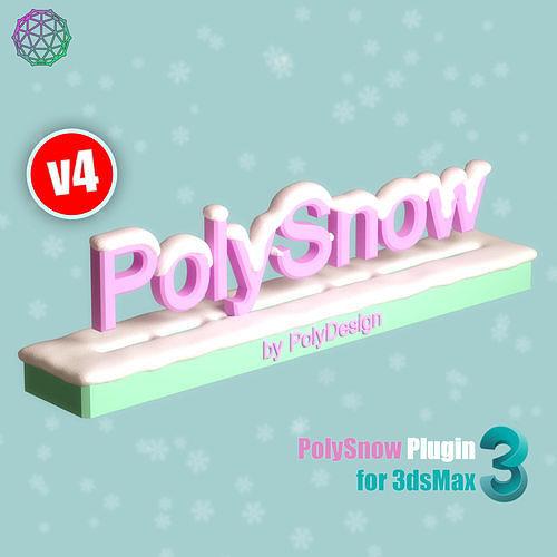 polysnow v4 for 3dsmax 3d model ms 1