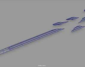 3D model Narsil The Lord of the Rings