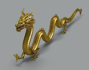 3D model Chinese Dragon 2