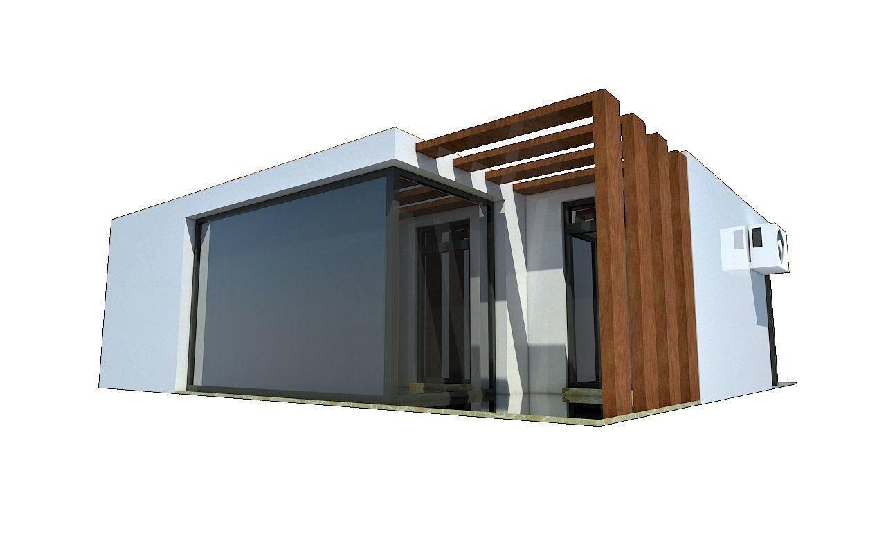 3d model minimal modern house vr ar low poly max obj mtl 3ds fbx dae rh cgtrader com minimal modern house design minimal modern house design