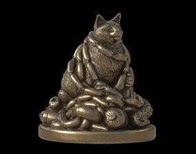3D print model happy cat