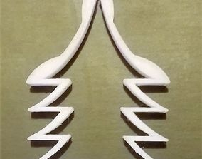 3D printable model Christmas tree cookie cutter