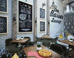 Barber Restaurant 3D