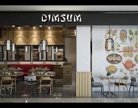 Dimsum Restaurant dimsum 3D model