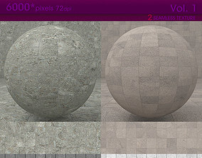 3D High Resolution Stone Tiles Texture