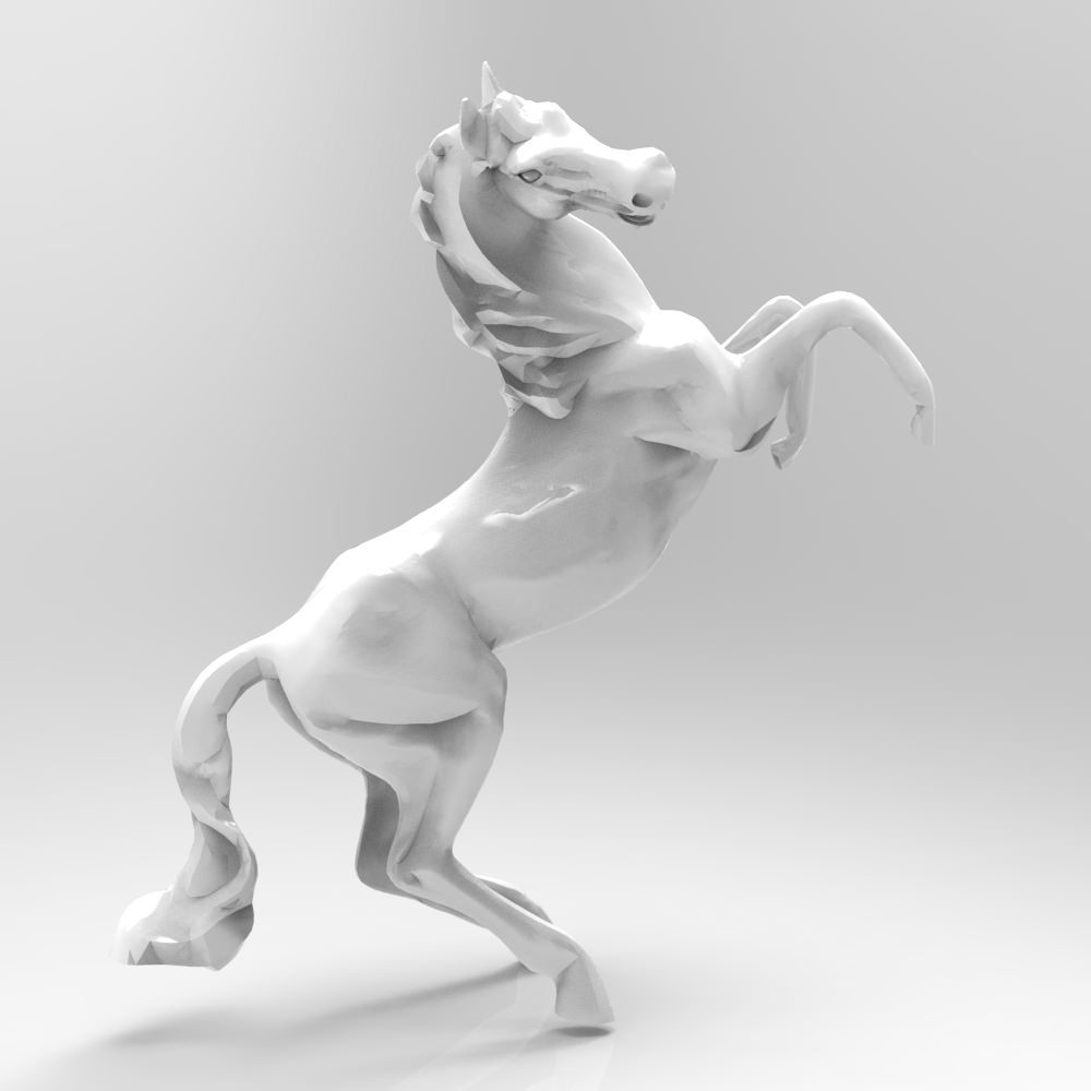 small horse statue 3d - photo #33
