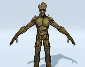 FREE Marvel Groot 3D