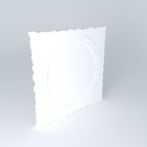 Mirror maisons du monde 3d model max obj 3ds fbx stl dae for Model decoration maison