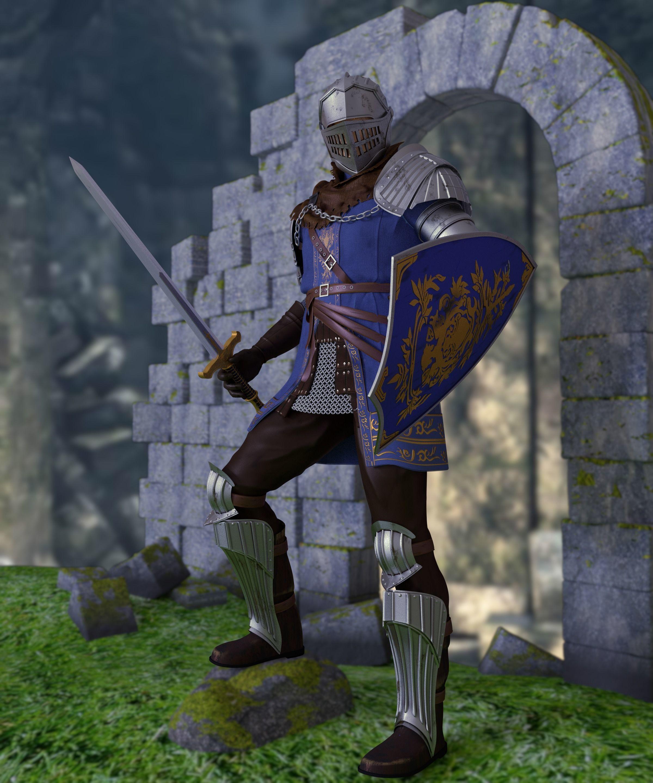 Knight of Astora Oscar from Dark Souls