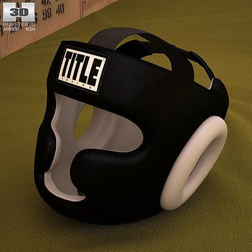 training headgear 3d model max obj mtl 3ds fbx c4d lwo lw lws 1