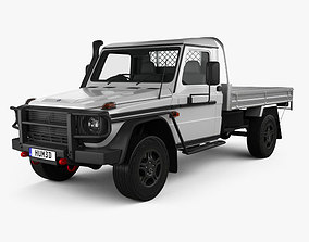 Mercedes-Benz G-Class W463 Single Cab Alloy Tray 2017 3D