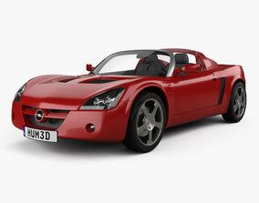 3D Opel Speedster 2000