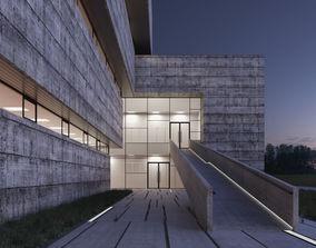 3D asset RnD Research Laboratory Building