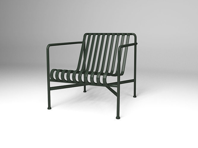 Sofa Modeling In 3ds Max Free Download  palissade lounge chair low 3d model