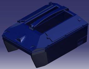 RC Bait Boat V1 for Carpfishing 3D Model Print