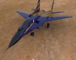 3D model MIG 29 A Studio Max obj