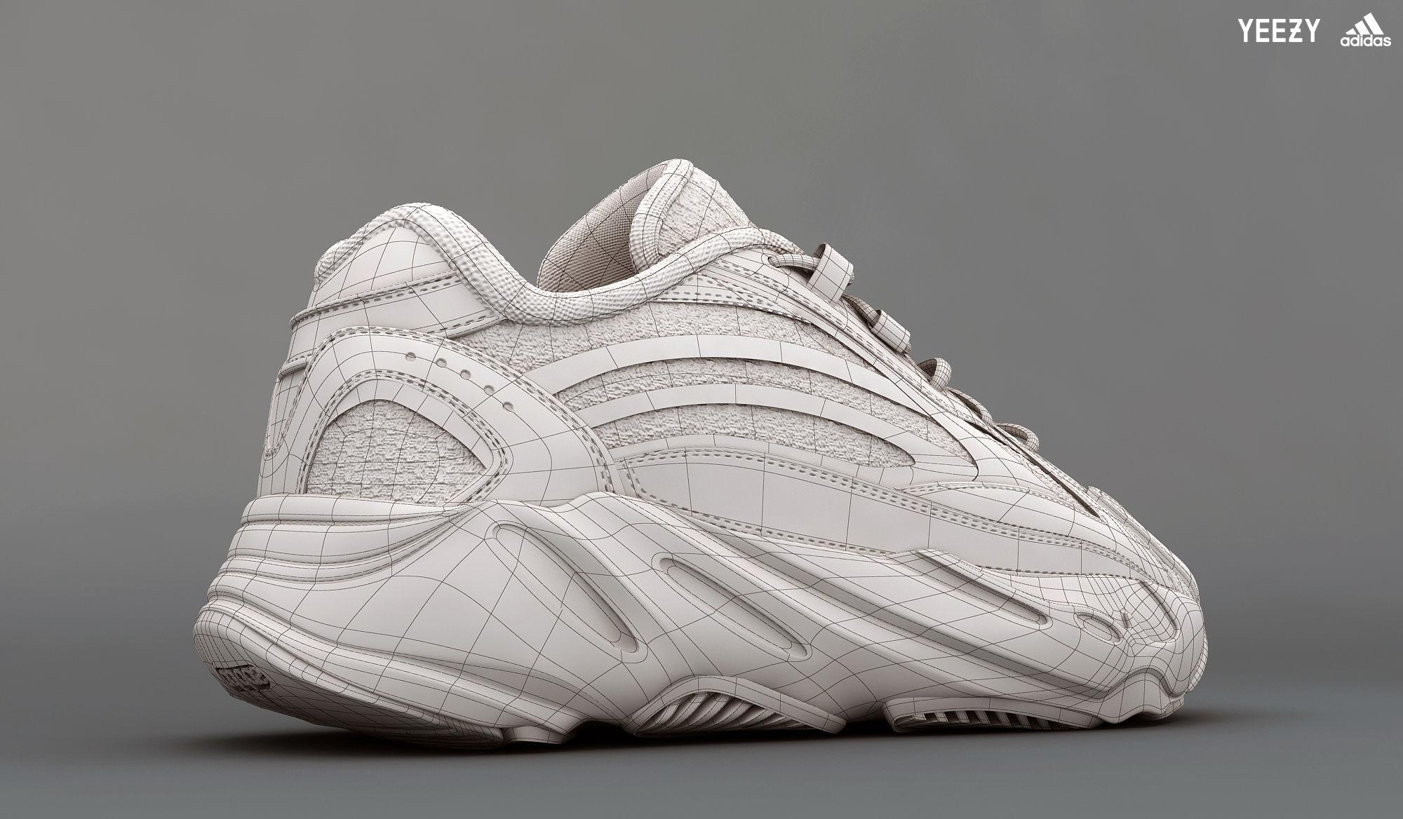 de0b46afcb98 ... adidas yeezy boost 700 v 2 static 3d model low-poly max obj mtl 4 ...