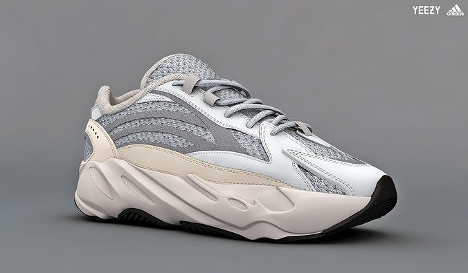 adidas yeezy boost 700 v 2 static 3d model low-poly max obj mtl 1 ... 33fd4e83c