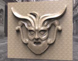 Ornamental Face 1 3D model