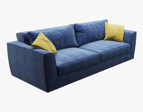 cushion 3D Photorealistic Sofa 002