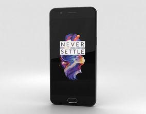 3D model OnePlus 5 Midnight Black