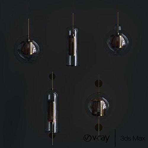 venito lights collection 3d model max obj mtl fbx 1