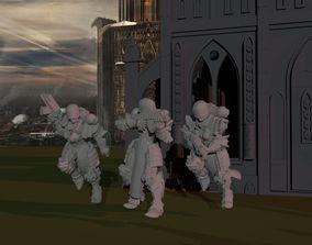 3D print model Sisters of War - Adeptus Squad
