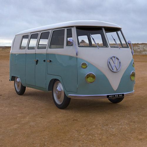 Where Can I Buy A Volkswagen Bus: Volkswagen Combi Studio Max 3D