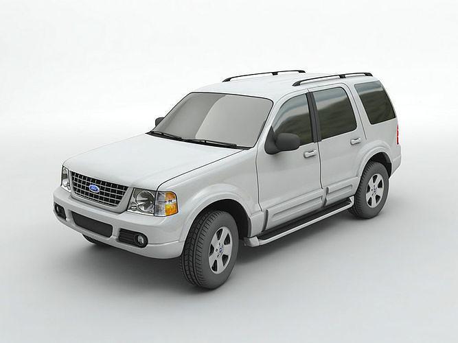 2004 ford explorer suv 3d | cgtrader