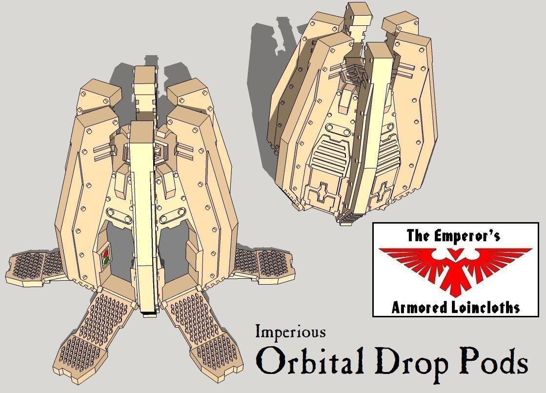 6mm and 8mm Orbital Drop Pods