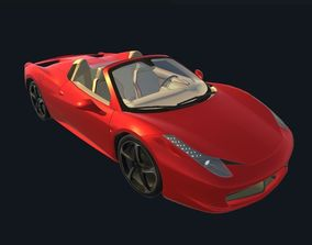 Game Ready Real Car 3 3D asset
