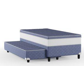Mario Bed Box 3D model