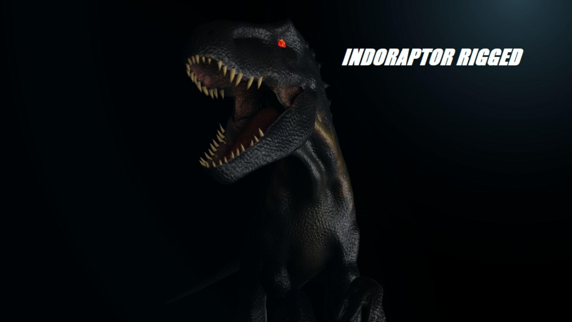 Indoraptor Rigged 2018