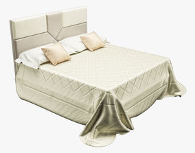 3D model Photorealistic Bed 005