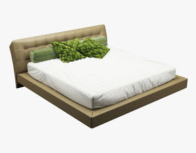 Photorealistic Bed 006 3D model