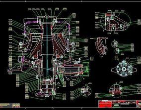 HIDROCONE CRUSHERS H3800 Cone Crusher Sandvik 3D model