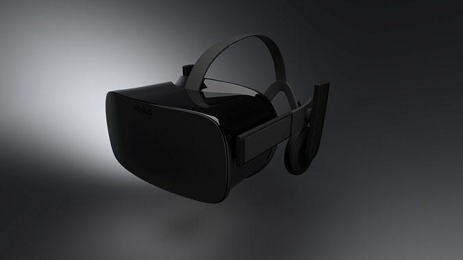 Svært technology Oculus Rift CV1 3D Model | CGTrader XI-71