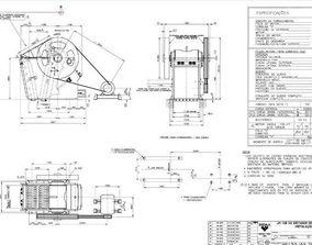 3D Sandvik Jaw Crusher 1108 complete