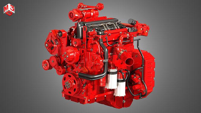QSF 4 Cylinder - Diesel Engine