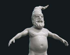 Naked Gnome 3D printable model