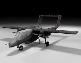 3D model bronco Lowpoly