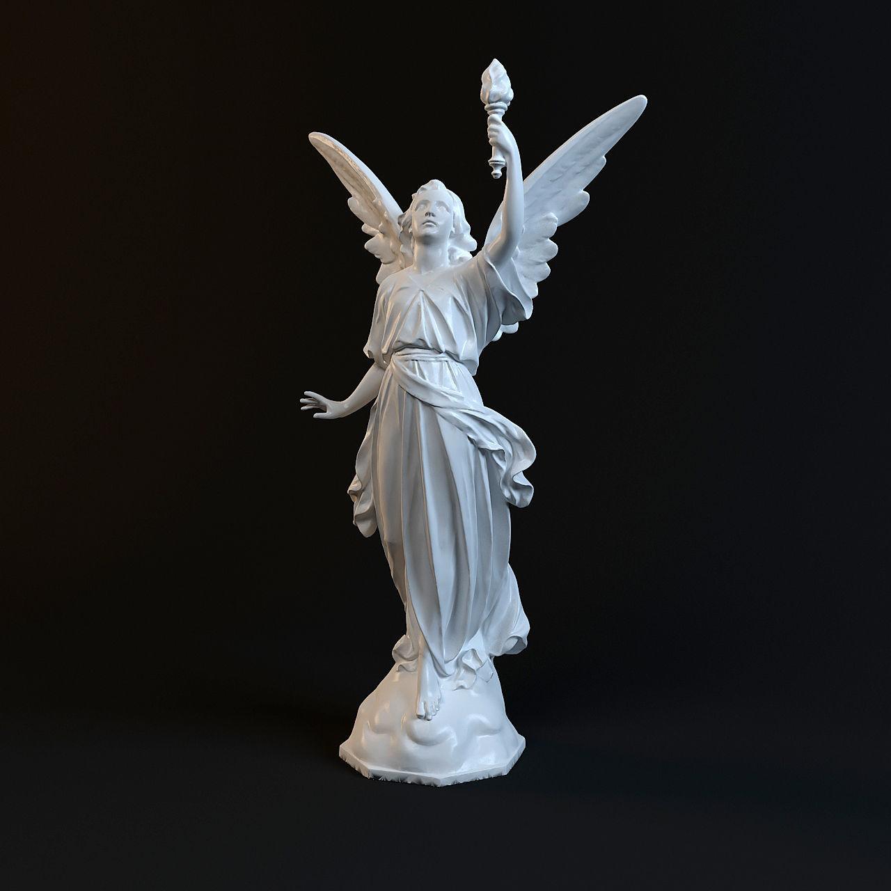 Goddess Statue  3D print model