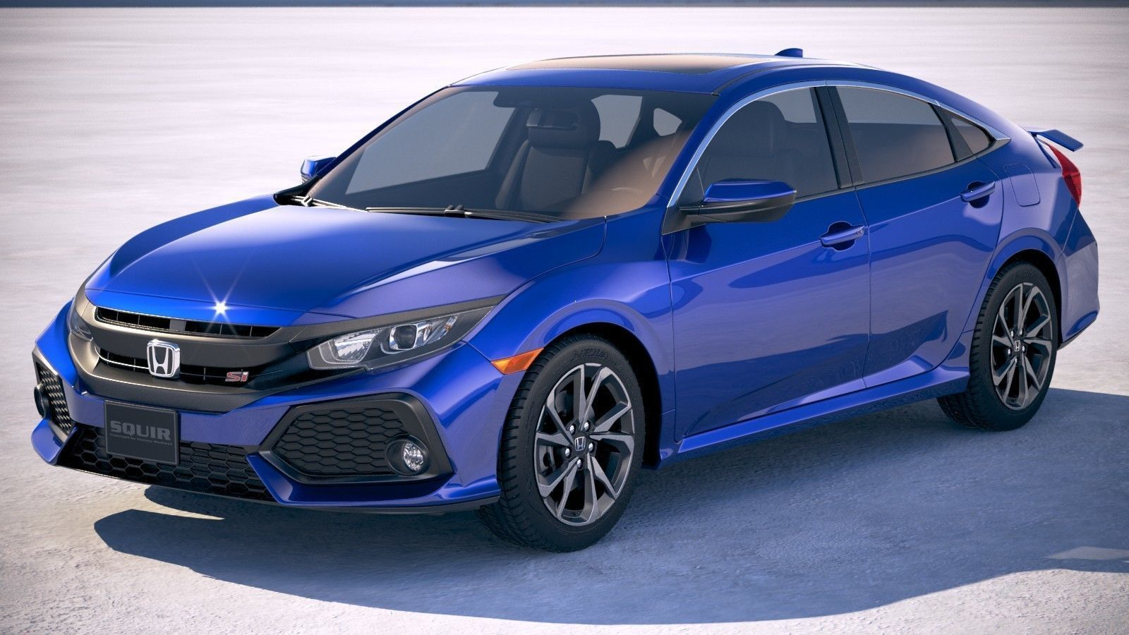 Honda Civic Si Sedan 2017 Model