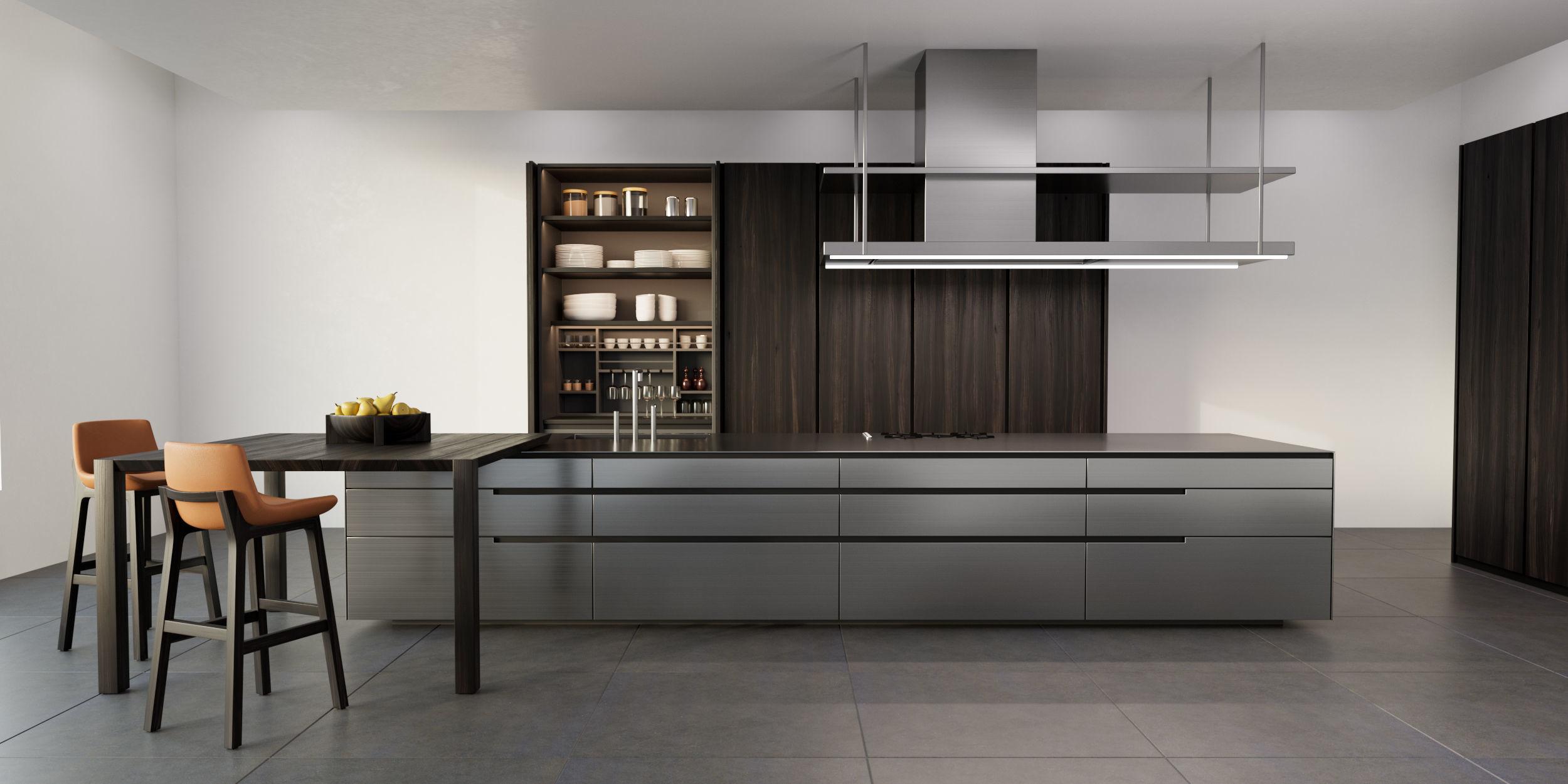 3D Poliform PHOENIX kitchen | CGTrader on Model Kitchen Picture  id=34268